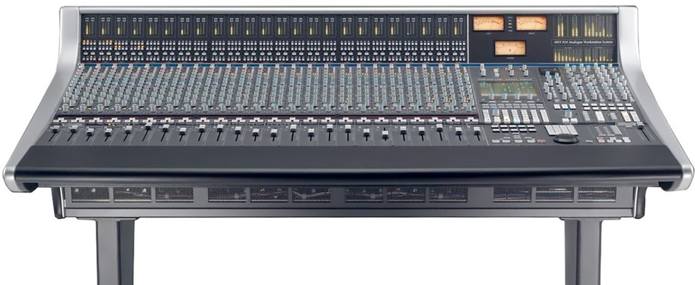 SSL AWS900 Miksebord for Lydstudio